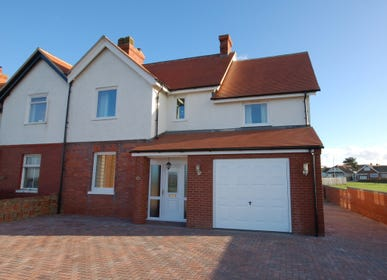 A spacious semi detached property close to the beach.