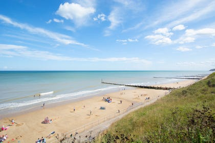 View of Overstrand Beach