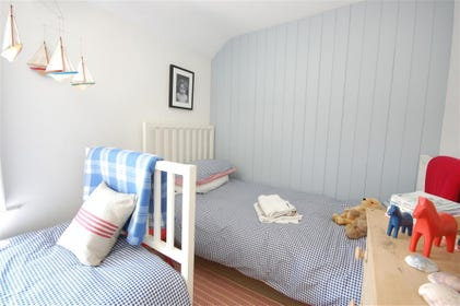 Decorated with a seaside theme, the children will adore this room