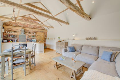 Characterful open plan living with comfortable seating