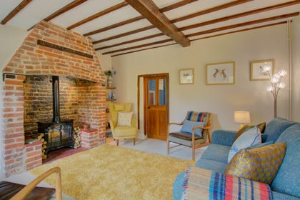 Sitting Room with inglenook fireplace