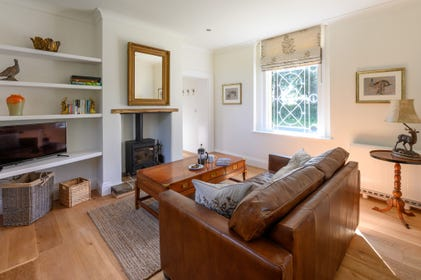 Sitting Room with woodburner & comfy seating