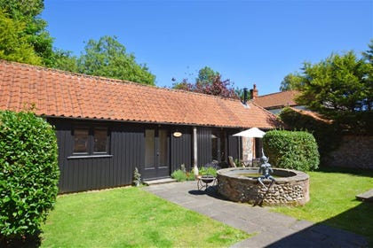 Exterior image of this attractive barn conversion