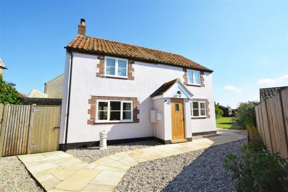 Exterior of this attractive detached property